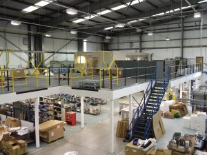 Mezzanine Flooring Fire Protection