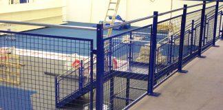 Mezzanine Floors Handrail Mesh