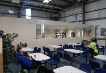 Mezzanine Floor Welfare Space