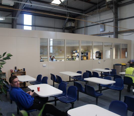 Mezzanine Floor Welfare Space