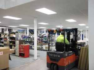 Mezzanine Flooring Lighting Solutions