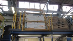 Mezzanine flooring Pallet Gates