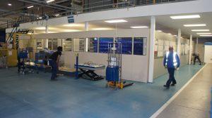 Mezzanine Flooring Partitioning Solutions