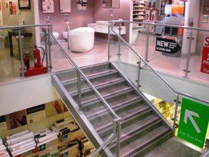 Mezzanine Flooring with staircase