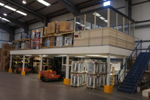 Mezzanine Flooring in Warehouses